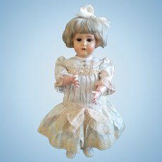 RARE German Celluloid Character 43/717 with flirty eyes, by Kammer and Reinhardt (ALL ORIGINAL!!!)