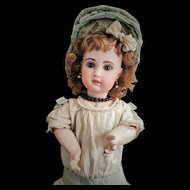 "Antique Jumeau Doll mold 1907 size 10 with Stamped Body ""Medaille d'Or' Paris"" with Talking Mechanism"