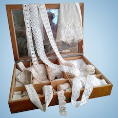 Lot of Handmade Antique and Vintage Lace