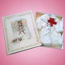 Adorable Antique Fur Coat in a Box