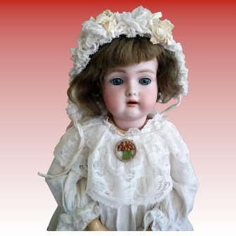 "VERY RARE 19"" German Halbig W.S.K. 2 1/2 Doll (circa 1895 -1910)"