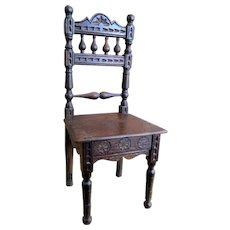 Antique Brittany French Doll Chair