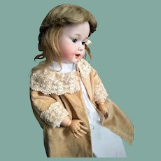 VERY RARE German Armand Marseille Doll Mold 590 (on Heinrich Handwerck stamped body)