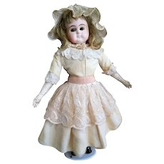Lovely Antique German Composit Doll (end of 19 century)