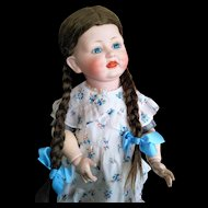 German Antique Alt, Beck & Gottschalk 1322, Rare Character Doll (circa 1915)