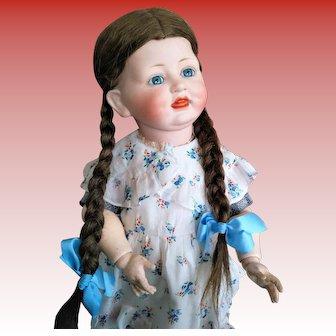 German Antique Alt, Beck & Gottschalk 1322, Rare Character Doll (circa 1915)