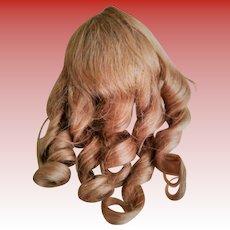 Original French Cheveux Naturels Human Hair Doll Wig