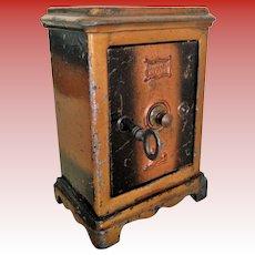 French Miniatre Tin Safe/Money Box (circa 1920)