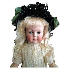 "Beloved German Kammer & Reinhardt Simon & Halbig ""Mein Liebling"" Mold 117 closed mouth Antique Doll (circa 1912)"