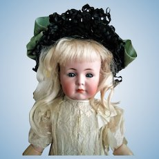 "Beloved German Kammer & Reinhardt Simon & Halbig ""Mein Liebling"" Mold 117 closed mouth Antique Doll (circa 1912)"