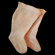 Antique French Doll Stockings/Socks