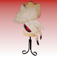 Antique Doll Fur Boa