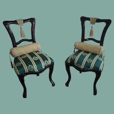 "Wonderful 14 3/4"" Doll Chairs"