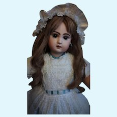 """Lovely French Bisque Bebe Jumeau, Size 12 (26"""")"""