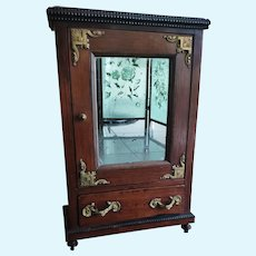 Beautiful French Antique Wooden Wardrobe