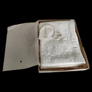 Antique English Christening Dress/Coat in an Original Box