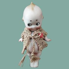 Antique All-Bisque Kewpie