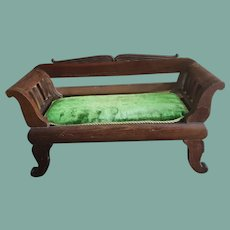 Antique French Wooden Sofa (Settee)