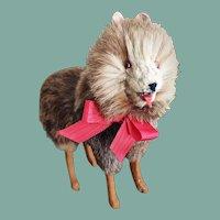 Antique German Doll Companion Dog