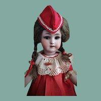 Very Rare and Beautiful Antique Heinrich Handwerck Simon&Halbig Doll