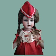 Very Rare and Beautiful Antique Heinrich Handwerck Simon&Halbig Doll