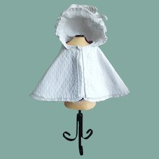 Lovely Antique Fashion Doll Cape