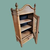 Antique Faux-bamboo Cabinet/Buffet