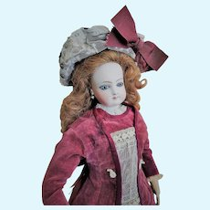 Classic French Bisque Fashion Doll of the 1872 Era