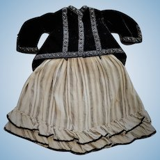 Two-piece French Fashion Costume