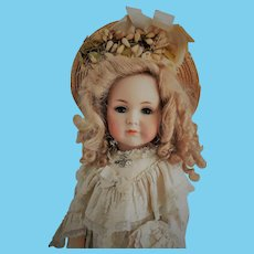 "Magnificent 24"" German Kammer & Reinhardt Simon & Halbig ""Mein Liebling"" Mold 117 closed mouth Antique Doll"