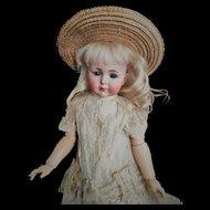 "Wonderful Kammer & Reinhardt Simon & Halbig ""Mein Liebling"" Mold 117 closed mouth Antique Doll (circa 1912)"