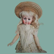 "Reserved by M. Wonderful Kammer & Reinhardt Simon & Halbig ""Mein Liebling"" Mold 117 closed mouth Antique Doll (circa 1912)"