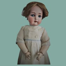 All original! Antique Simon&Halbig K*R W. German Bisque Doll 55 (circa 1900)