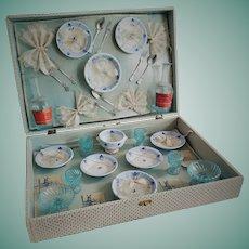 "Antique Full Dinner Service ""Dinette"" in Original Box"