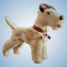 Miniature Antique Salon Dog