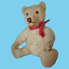 OLd Beautiful Golden Teddy Bear