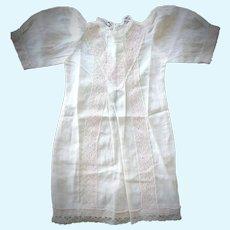 Jumeau Muslin Chemise / Dress