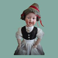 """Antique German 6971 Doll """"Laughing Heubach"""""""