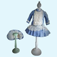 Lovely Couturier Doll Dress and Bonnet