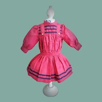 Lovely Antique Cotton Doll Dress