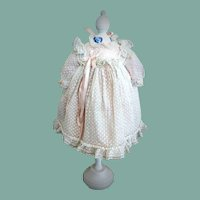Antique Early French Doll Dress