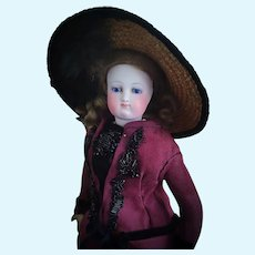 Early Antique French Fashion Doll in Petite Size