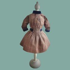 Lovely Antique Woolen French Dress