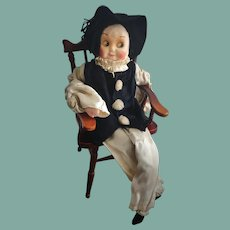 Lovely Cloth Googly French Doll