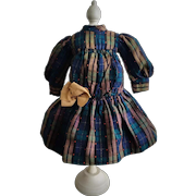 Gorgeous Antique French Doll Dress