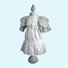 Magnificent Antique French Doll Dress