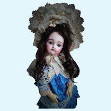 Gorgeous Antique French Pintel & Godchaux Doll