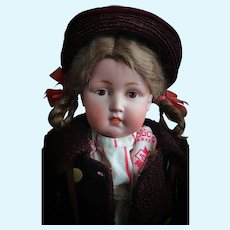 Rare All Original Antique Kestner Doll 180