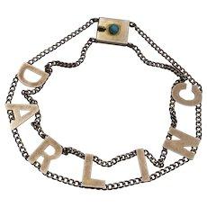 Victorian Darling Bracelet 9k Gold