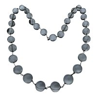 Pool of Light Art Deco Rock Crystal Necklace